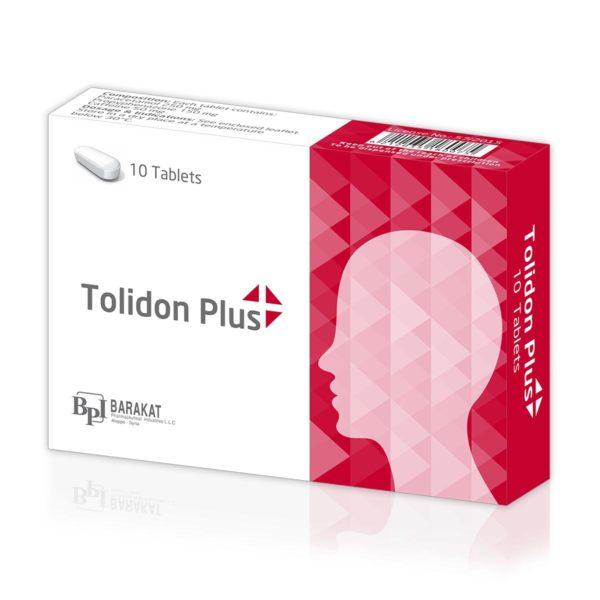 Tolidon-plus - Barakat Pharma