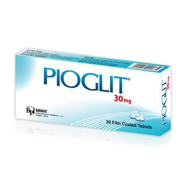 Pioglit 30 - Barakat Pharma