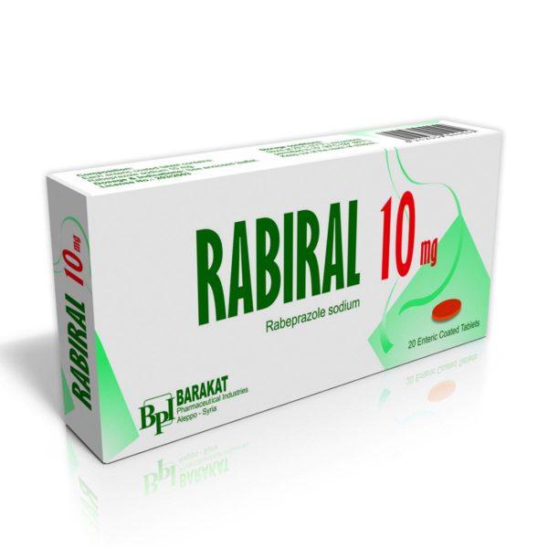 Rabiral-10 - Barakat Pharma