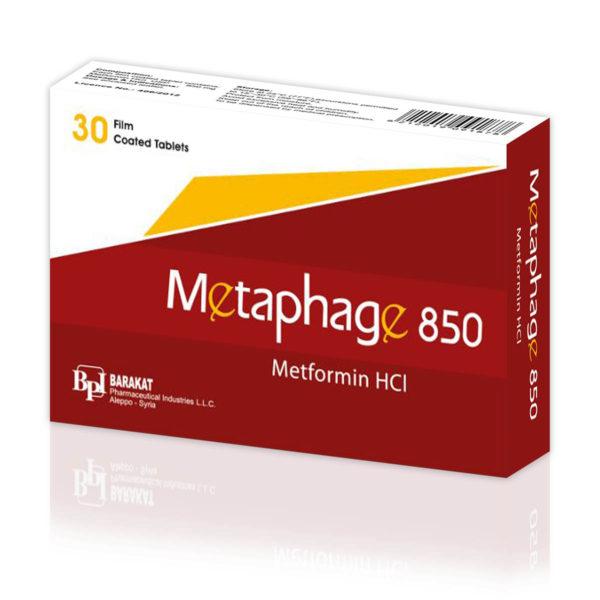 Metaphage 850 - Barakat Pharma
