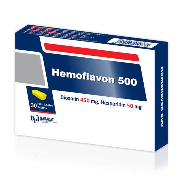 Hemoflavon 500 - Barakat Pharma