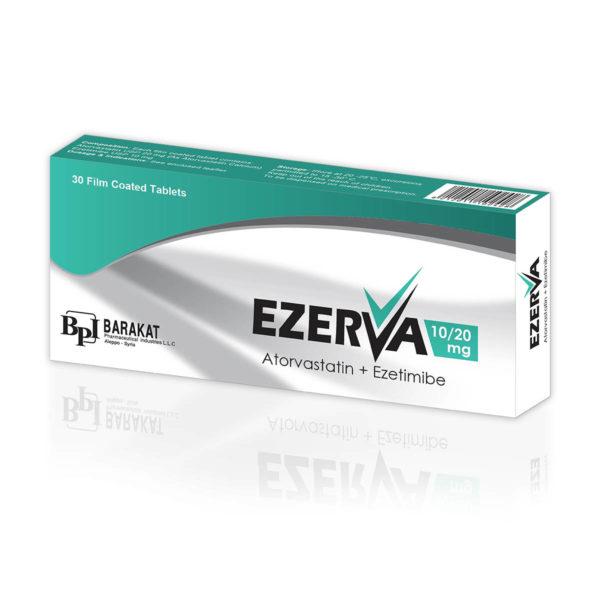 Ezerva 20 - Barakat Pharma