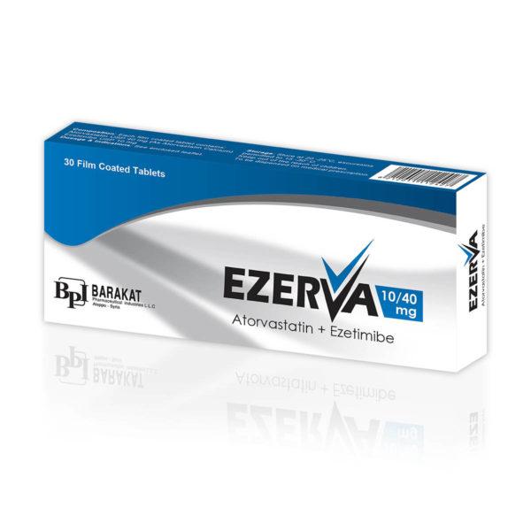 Ezerva 40 - Barakat Pharma