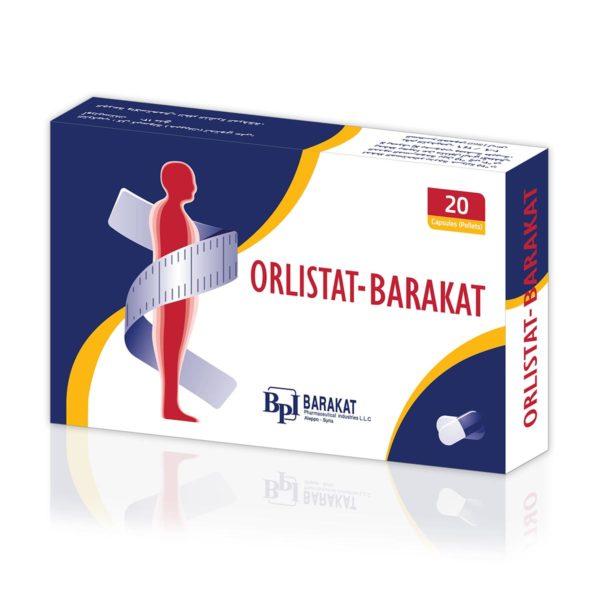 Orlistat - Barakat Pharma