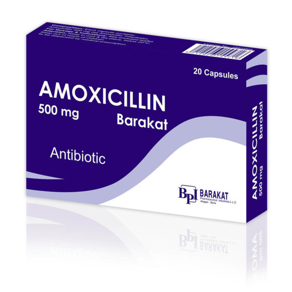 Amoxicillin - Barakat Pharma