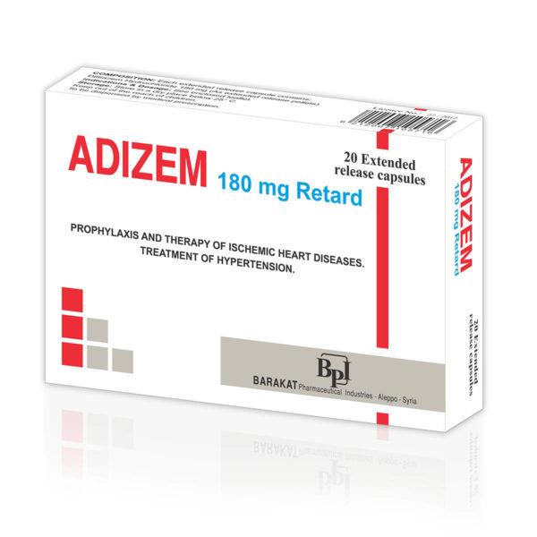 Adizem 180 - Barakat Pharma