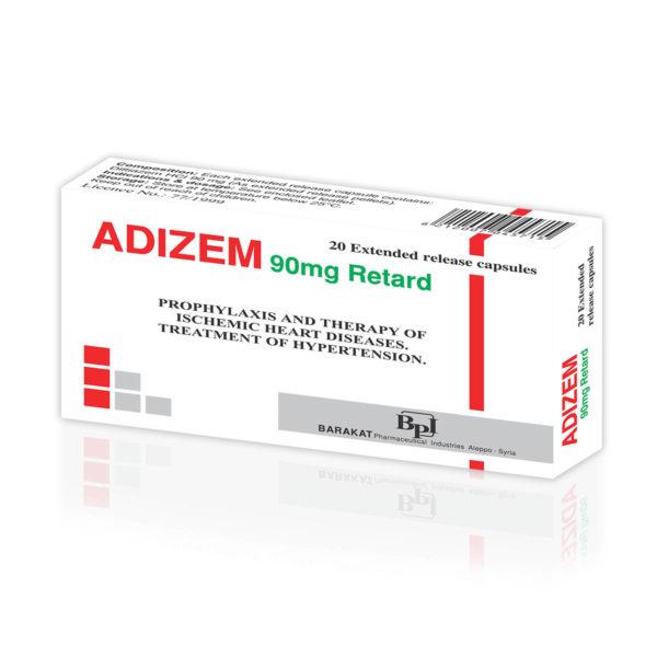 Adizem 90 - Barakat Pharma