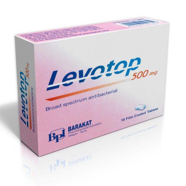Levotop-500 - Barakat Pharma