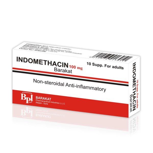Indomethacin 100 - Barakat Pharma