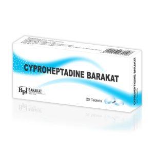 Cyproheptadine Barakat - Barakat Pharma