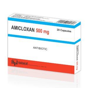 Amicloxan 500 - Barakat Pharma