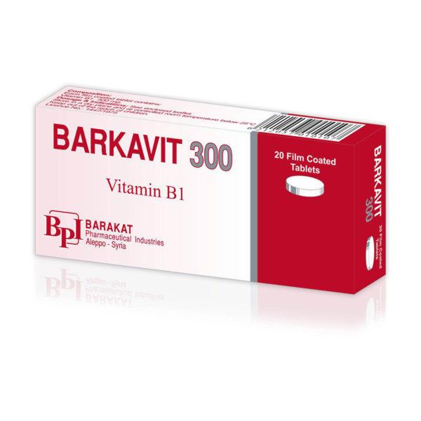 Barkavit 300 - Barakat Pharma