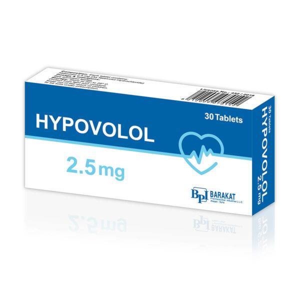 Hypovolol 2.5 - Barakat Pharma