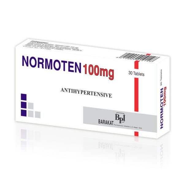 Normoten 100 - Barakat Pharma